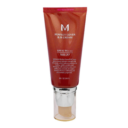 MISSHA  M Perfect Cover BB Cream No. 27 SPF42 PA+++ (50mL) - SKISKIN