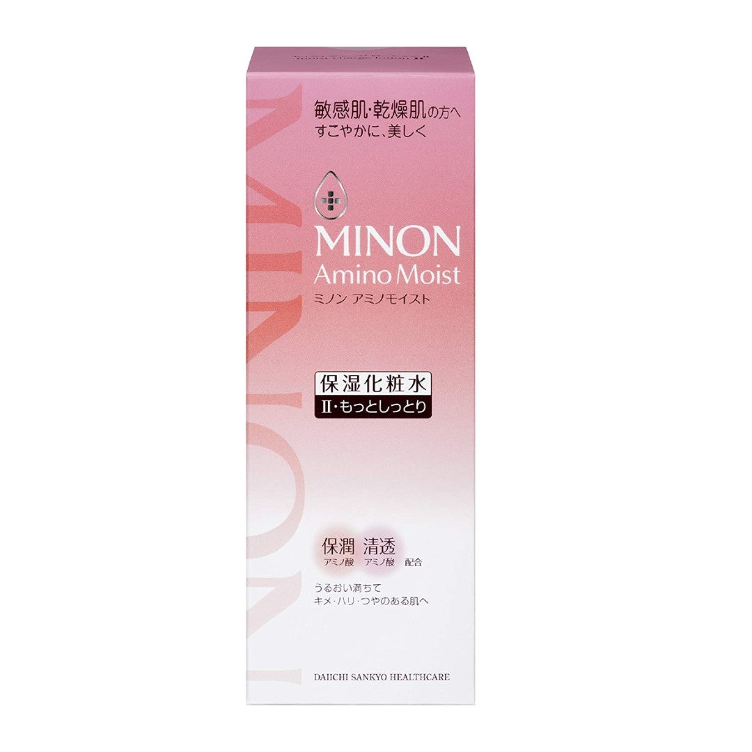 MINON AminoMoist MLMa Moist Charge Lotion II Extra Moist-Type. (150 ml)