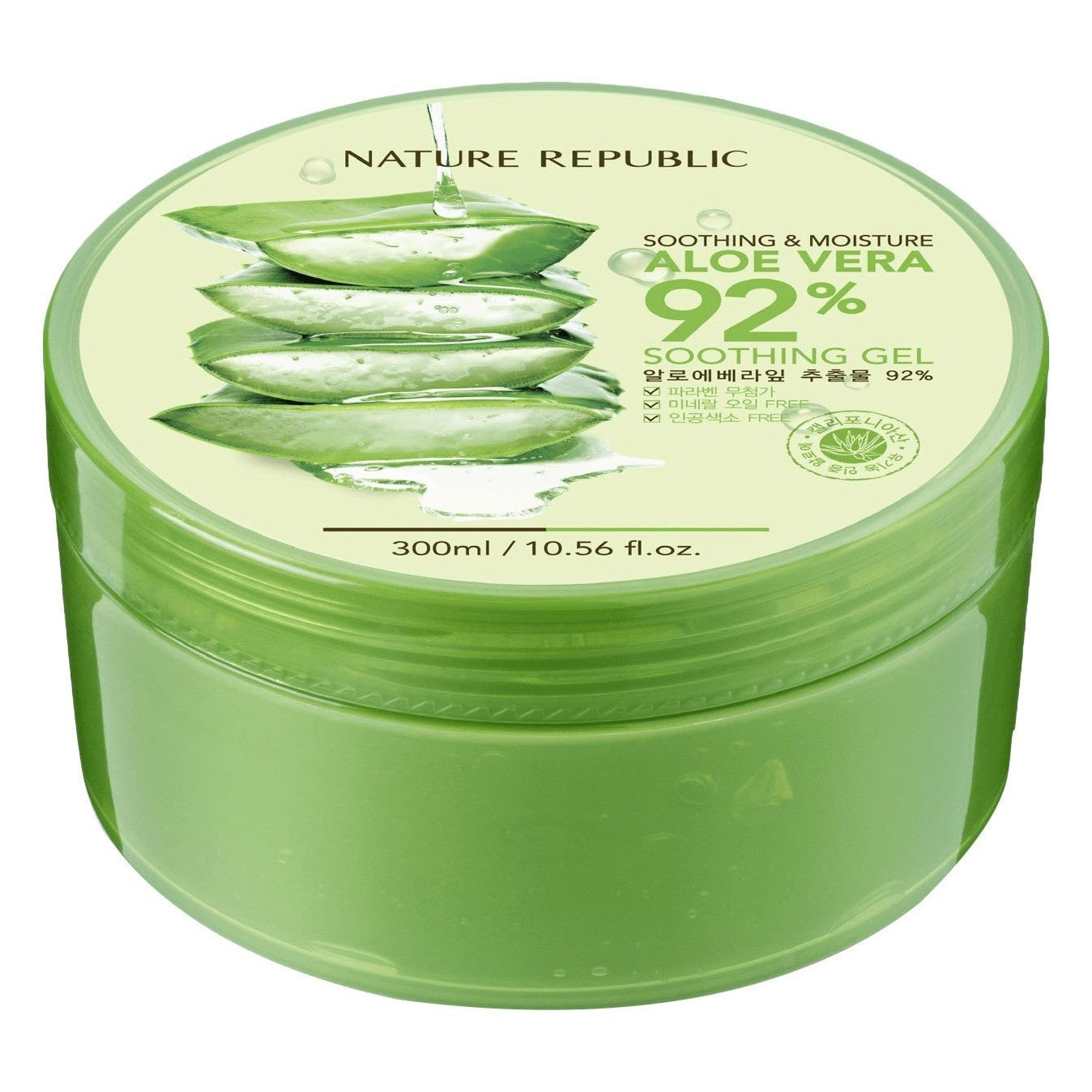 NATUR REPUBLIC Shooting & Moisture Aloe Vera 92% Soothing Gel (250 mL)
