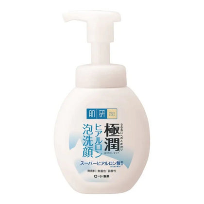 Hada Labo Gokujyn Hyaluronic Acid Face Cleansing Foam (160mL) - Skiskin