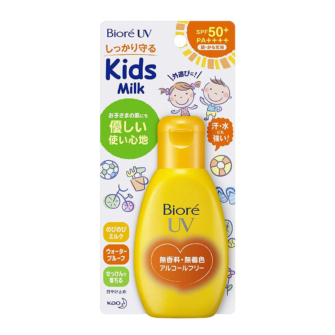 Biore UV Mild Milk (For Kids) SPF50+/PA++++ (90g)