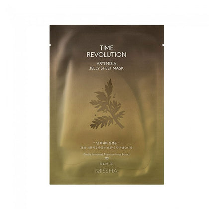 MISSHA Time Revolution Artemisia Jelly Sheet Mask (1 piece) - SKISKIN