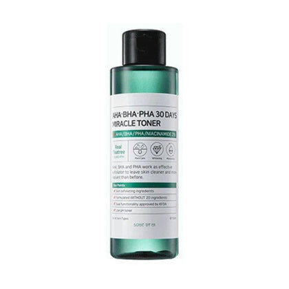 SOME BY MI AHA, BHA, PHA 30 Days Miracle Toner (150mL) - SKISKIN