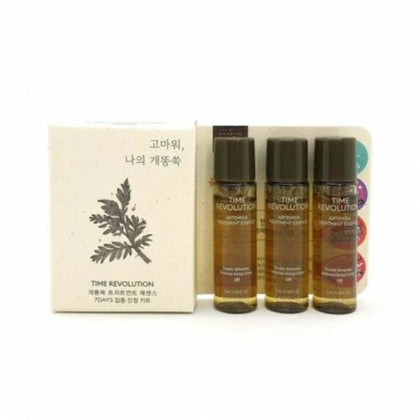 MISSHA Time Revolution Artemisia Treatment Essence [Sample 5ml x 5 bottle] (25mL) - SKISKIN