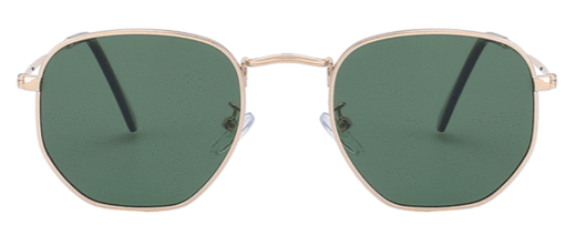 The green hexagonal frame-perfect style