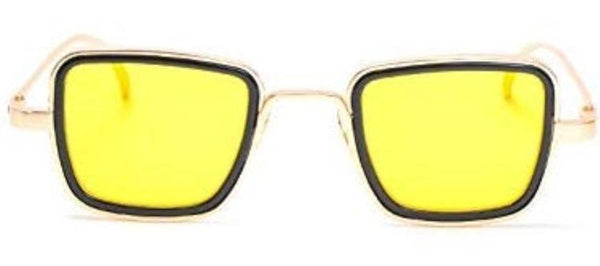 Kabir Singh Glasses - Yellow Glowing Metal Frames | Shades Gallery
