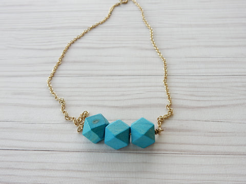 Polygons Necklace