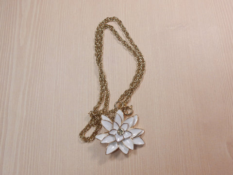 Lotus Flower Power Necklace