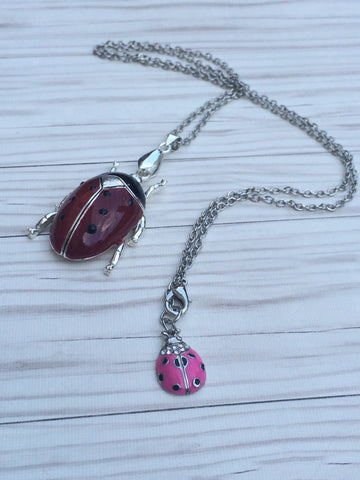 Lovely Ladybugs Necklace