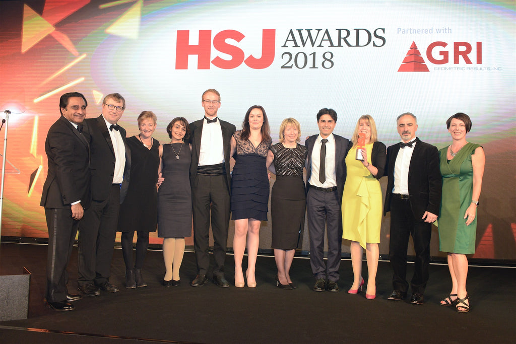 TIHM for dementia wins HSJ Award 2018: Improving Care with Technology