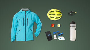 Dan's quick guide to bike commute essentials featuring Bontrager, Knog and Park Tool brands