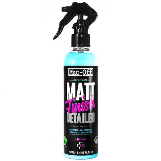 Matt Finish Detailer - Muc off Protectant & Quick Detailing Spray