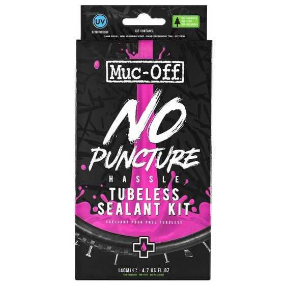 No Puncture Hassle Kit - Muc off Tubeless Sealant
