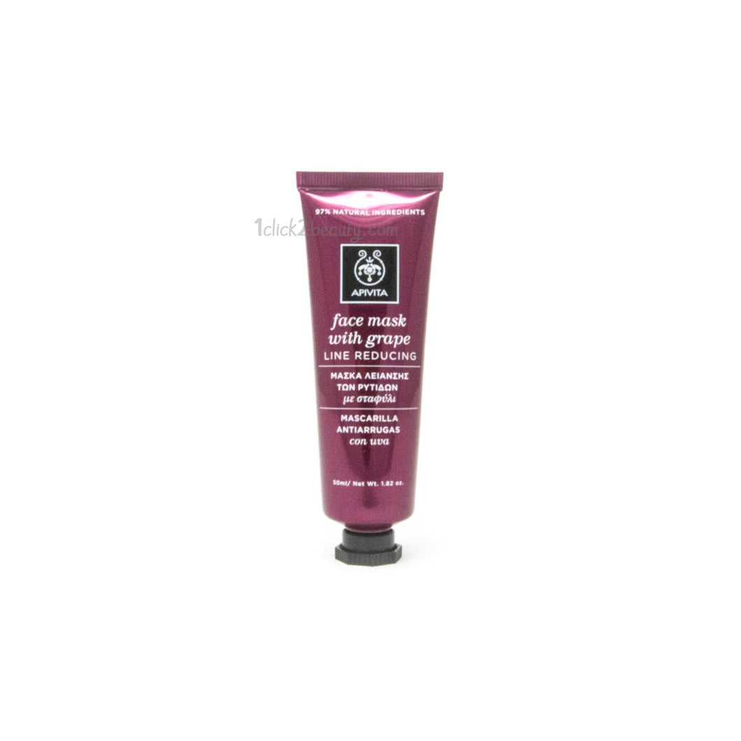 Apivita face mask with grape line reducing 葡萄籽緊膚面膜 50ML