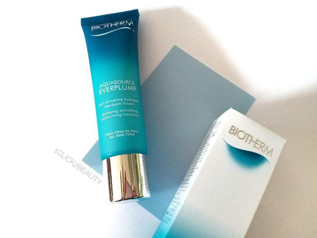 Biotherm Aquasource Everplump 水盈回彈面霜 30ML - buy European skincare in Hong Kong - 1click2beauty