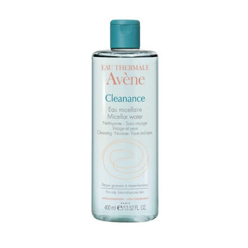 Avene Cleanance eau micellaire 雅漾活泉爽膚水 400ML - buy European skincare in Hong Kong - 1click2beauty