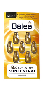 德國BALEA Q10抗皺抗老膠囊 3PACK - buy European skincare in Hong Kong - 1click2beauty