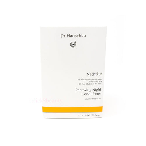 德國世家 Dr. Hauschka Renewing Night Conditioner 夜韻律神仙水 $488/50枝 x 1ml