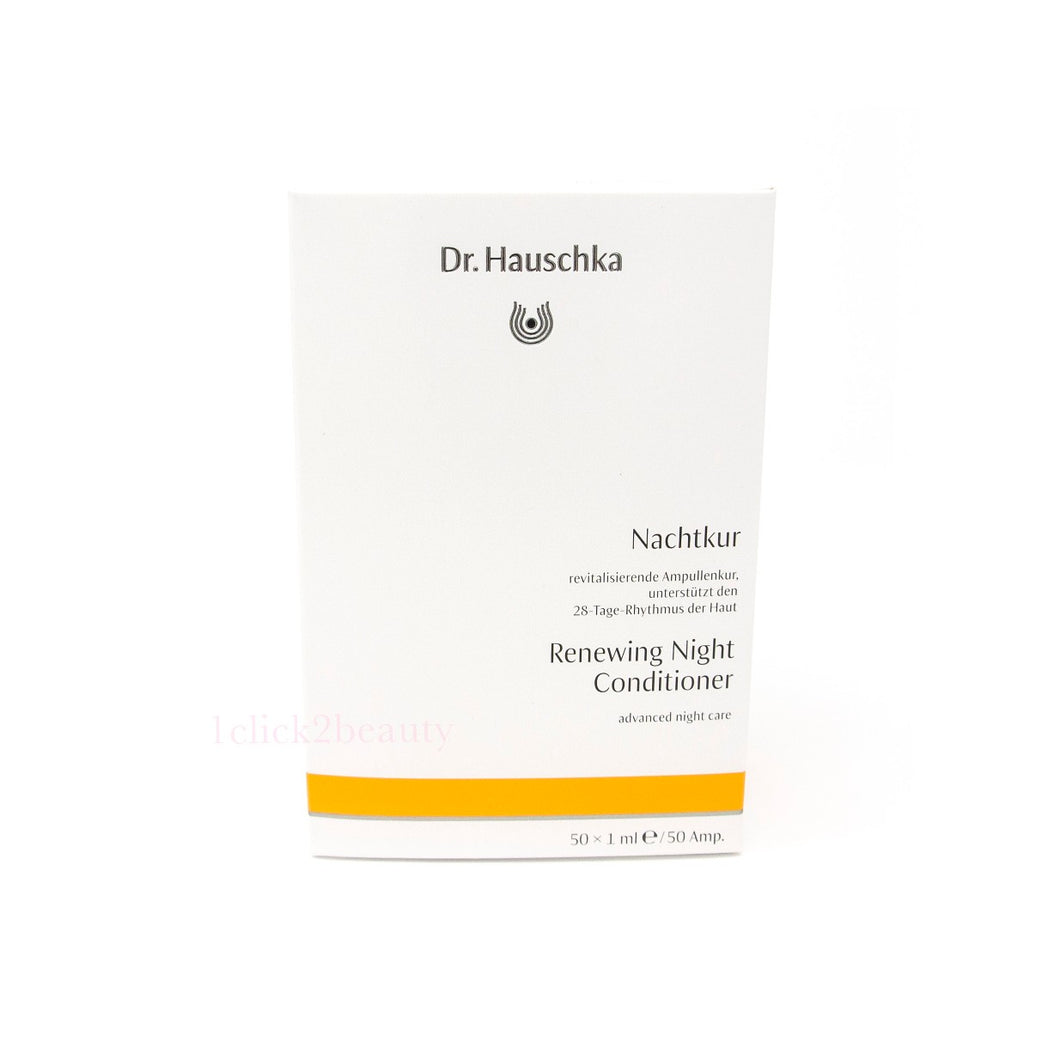 德國世家 Dr. Hauschka Renewing Night Conditioner 夜韻律神仙水 $488/50枝 x 1ml - buy European skincare in Hong Kong - 1click2beauty