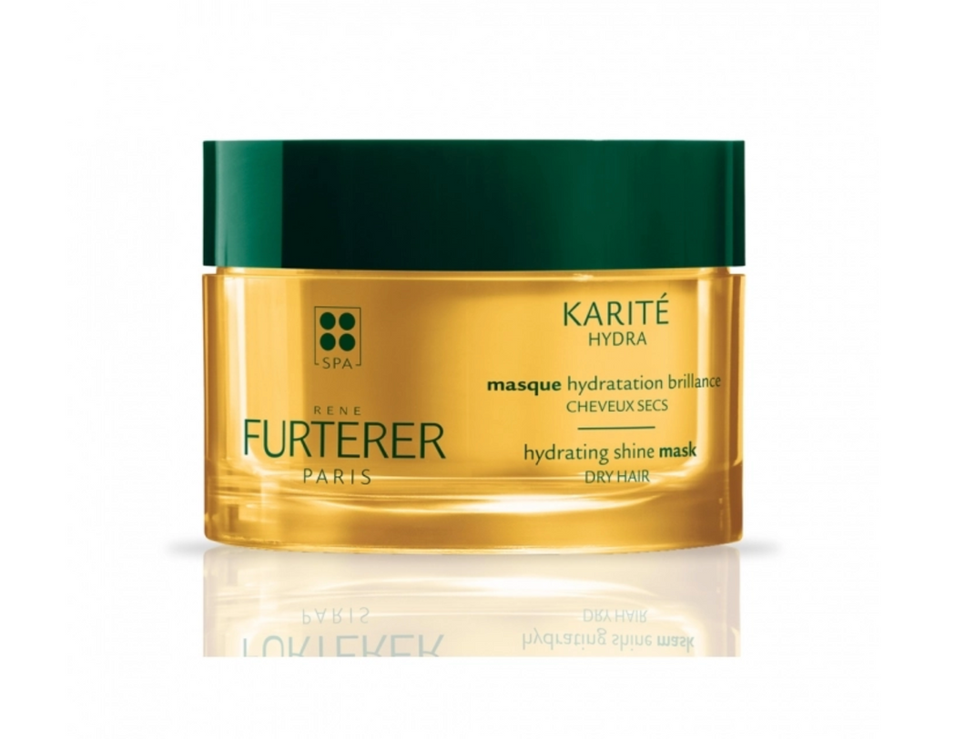 RENE FURTERER KARITE HYDRA MASK HYDRATION BRILLIANCE HAIR DRY 200ML - buy European skincare in Hong Kong - 1click2beauty