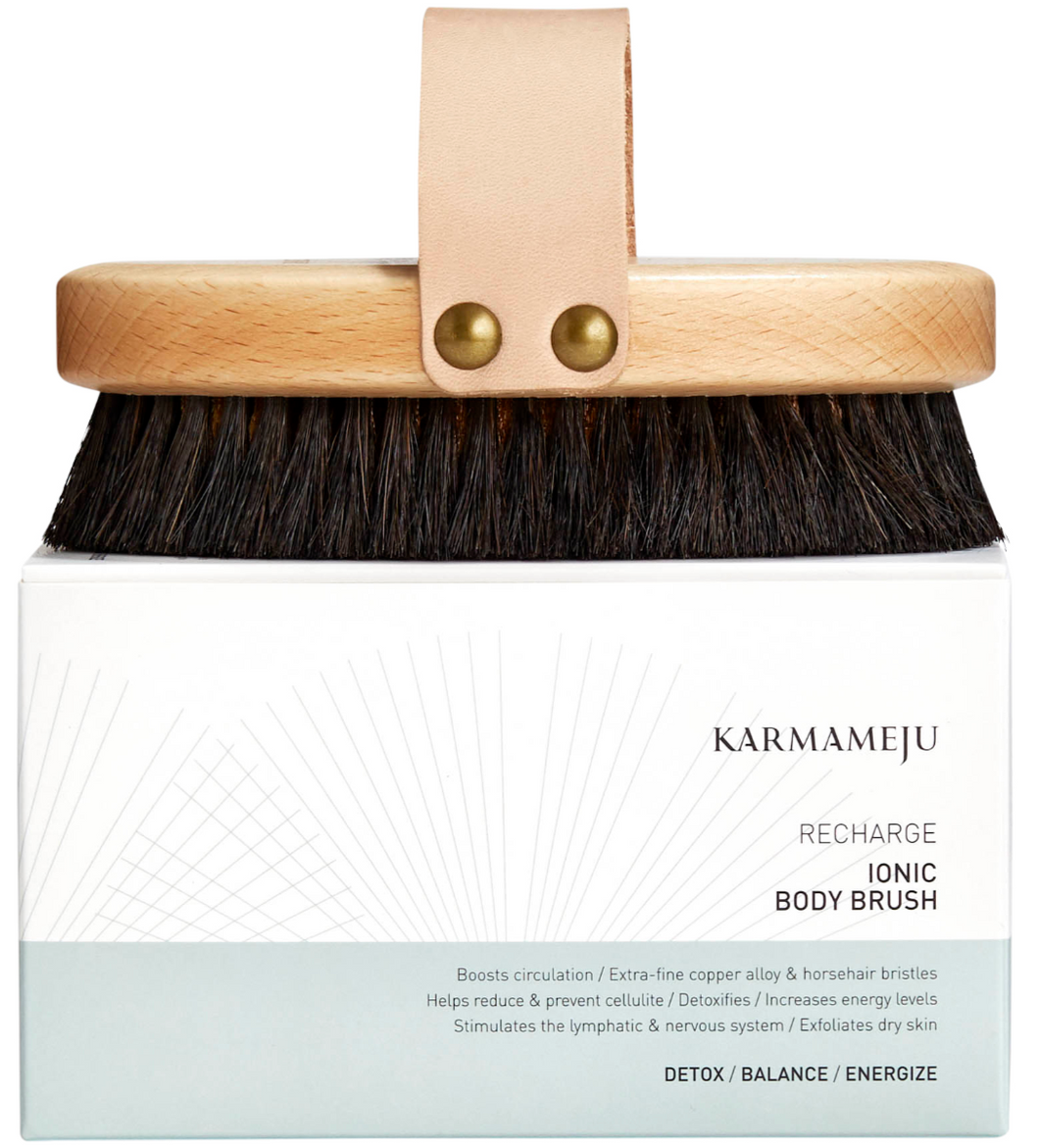 [去背部暗粒有計]KARMAMEJU Ionic Body Brush 離子嫩膚刷 - buy European skincare in Hong Kong - 1click2beauty