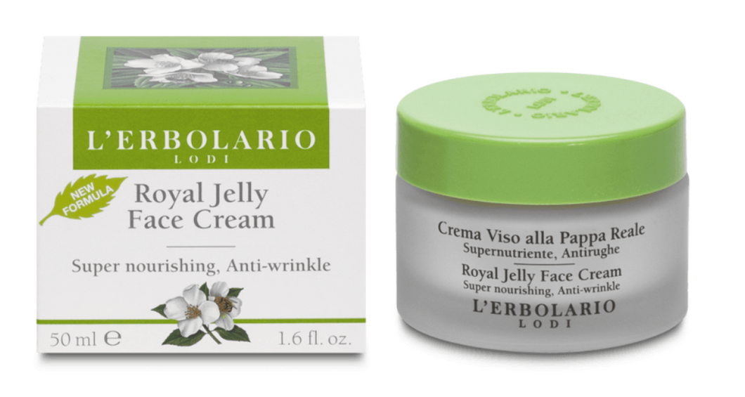 意大利Lerbolario Royal Jelly Face Cream 蜂王漿面霜 50ml - buy European skincare in Hong Kong - 1click2beauty