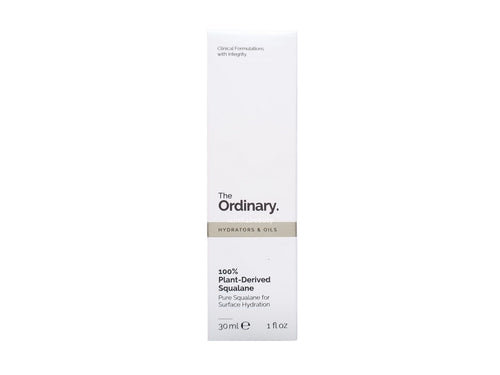 The ordinary 100% Plant -Derived Squalane 植物角鯊烷 30ML - buy European skincare in Hong Kong - 1click2beauty