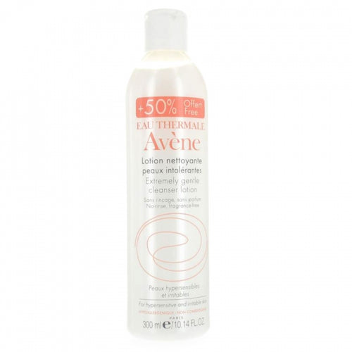 Avene extremely gentle cleanser lotion 修護潔面乳 50%增量裝 300ml - buy European skincare in Hong Kong - 1click2beauty