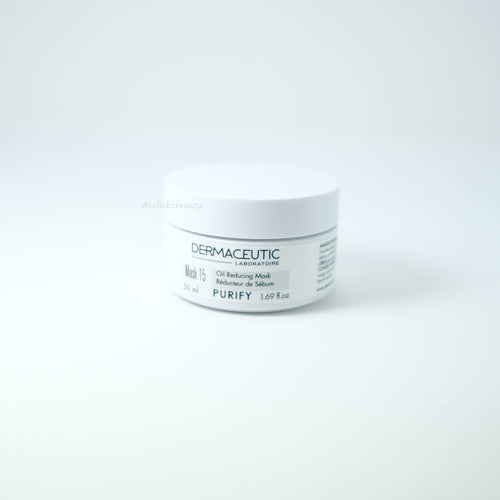 Dermaceutic Mask 15 控油淨化換膚面膜 50ML - buy European skincare in Hong Kong - 1click2beauty
