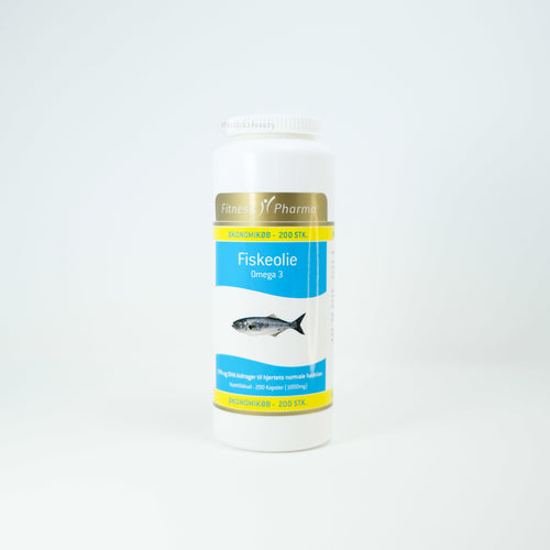 Fitness Pharma Fish oil 200粒 - 1click2beauty