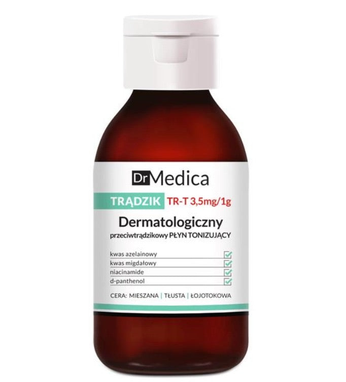 Dr. Medica Dermatological Anti-Acne Tonic 抗痘爽膚水 250ML - buy European skincare in Hong Kong - 1click2beauty