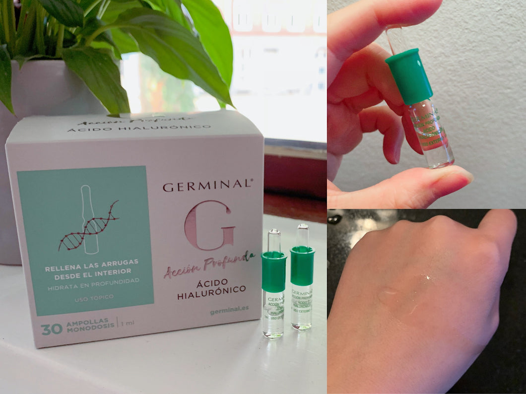 西班牙GERMINAL玻尿酸安瓶 Acid hyluaronic - buy European skincare in Hong Kong - 1click2beauty