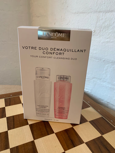 Lancôme Confort Cleansing Duo Set - buy European skincare in Hong Kong - 1click2beauty
