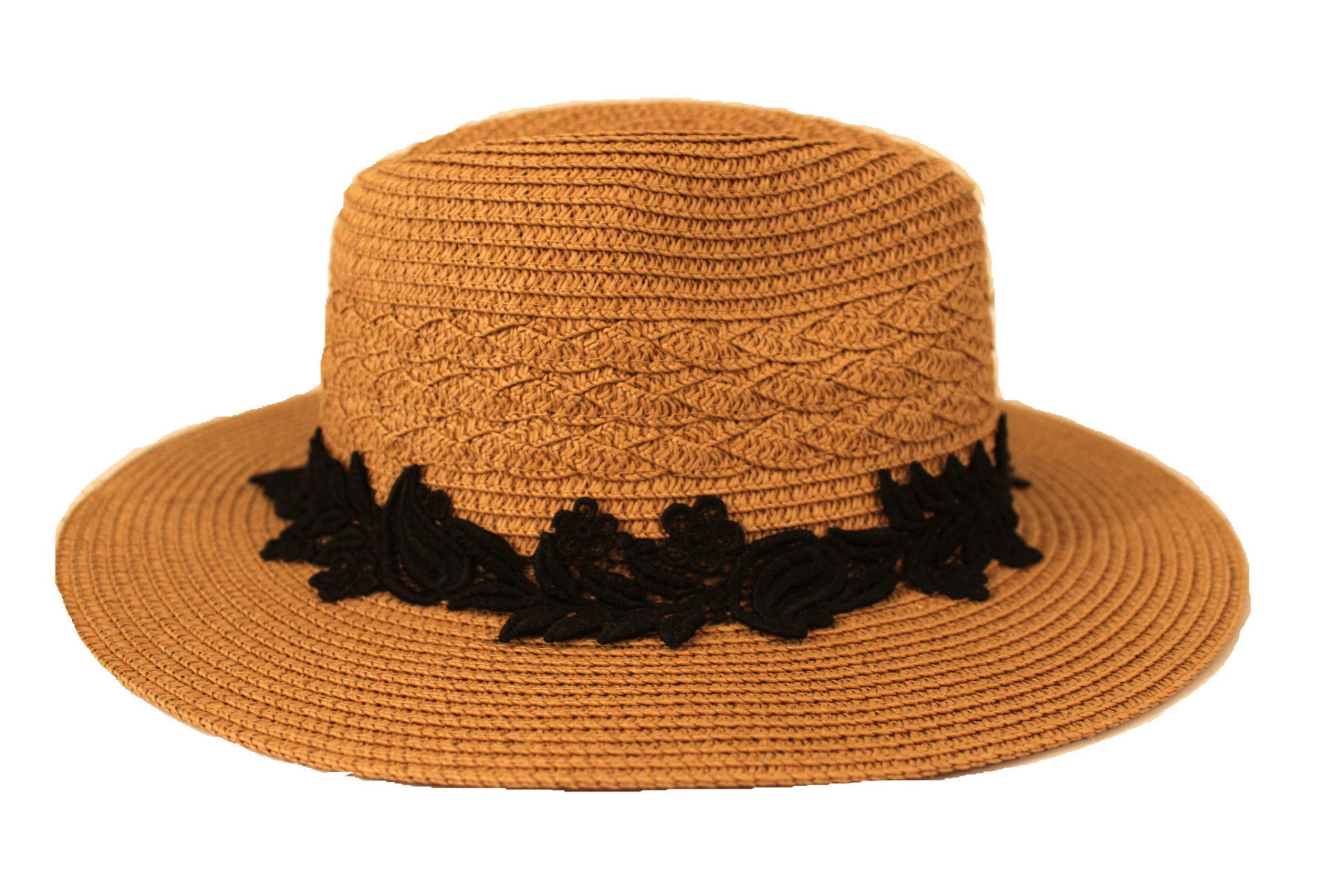 DARK TAN HAT