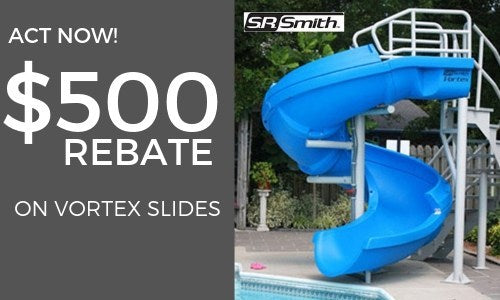 $500 Rebate On Our Most Popular Pool Slide