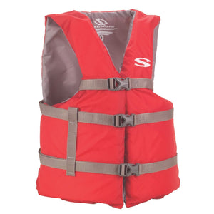 Red Life Jacket Type III Adult 90# and up
