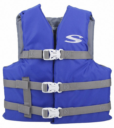 Blue Life Jacket Type III PFD/Child 30-50#