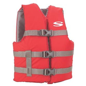 Blue Life Jacket Type III PFD/Youth 50-90#