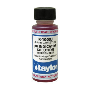 Taylor Kit Reagent -pH Indicator For Midget and Slide Comparators