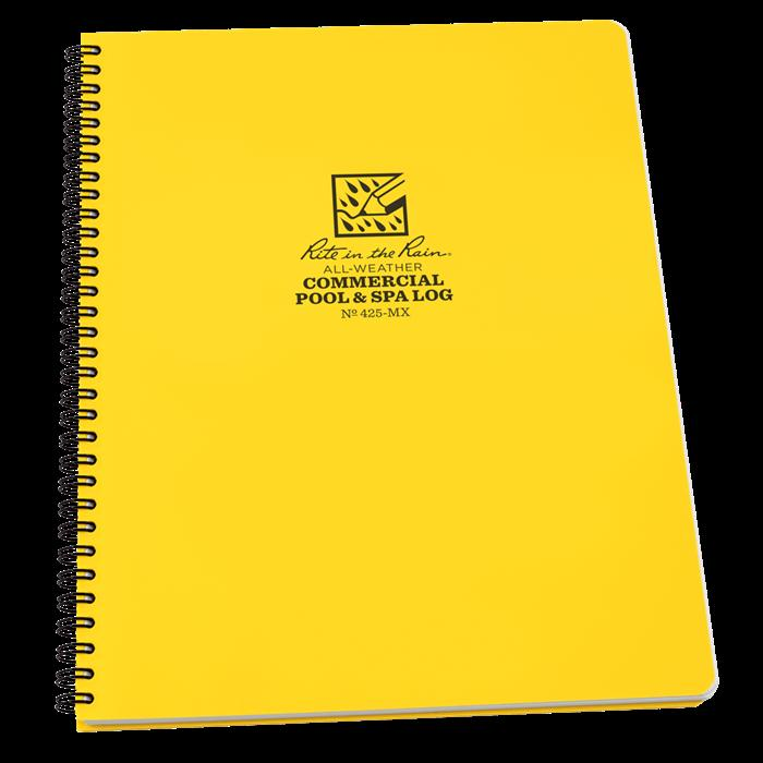 Commercial Pool & Spa Log Book