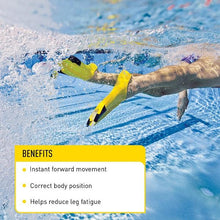 Load image into Gallery viewer, Z2 Gold Zoomers®Short Blade Swim Fins