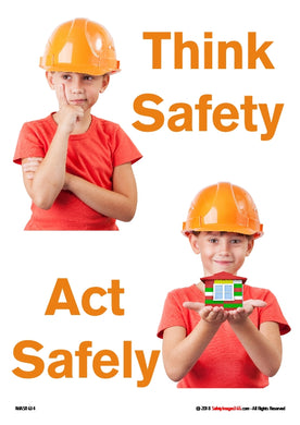 two pictures of same child wearing a safety helmet.