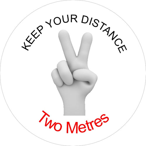 Button Badges - KEEP YOUR DISTANCE 2 METRES.