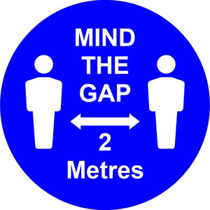 Button Badges - MIND THE GAP 2M.