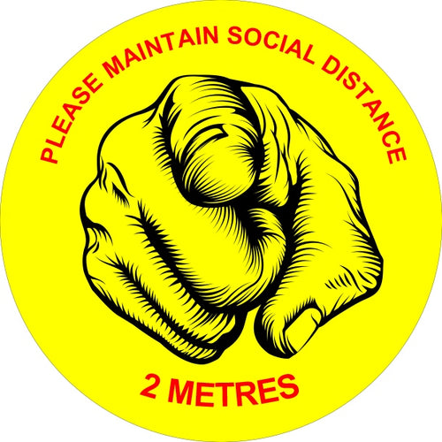 Button Badges - PLEASE MAINTAIN SOCIAL DISTANCE.