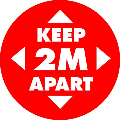 Button Badges - KEEP 2M APART.