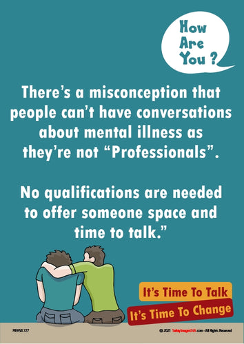 Mental Health Safety Poster. How are you? 2.