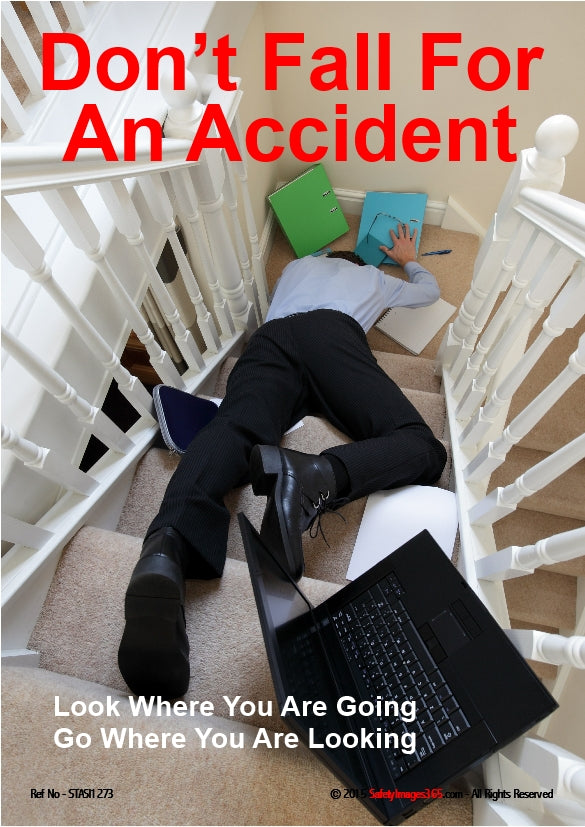 Picture of a man lying on the stairs.