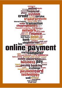 Image showing Online Payment and alternative wording