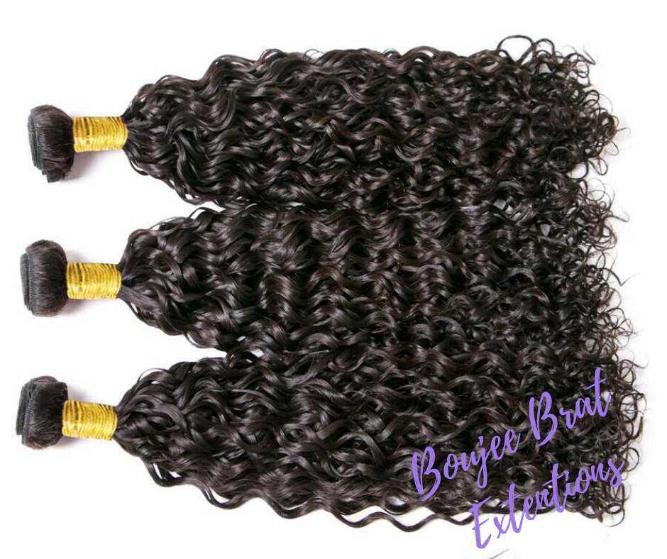 3 Bundle | Water Wave | Brazilian Hair